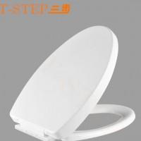 本厂直销 三步品牌加厚耐用缓降静音PP塑料马桶座便器盖板S-