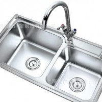 水槽201不锈钢连体外拉水槽加工厂直接批发销售大众化水槽批发